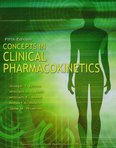 Concepts in Clinical Pharmacokinetics  5th 2010 edition cover