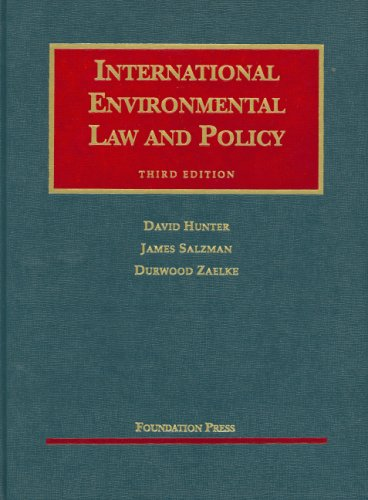 International Environmental Law and Policy  3rd 2007 (Revised) 9781599410418 Front Cover