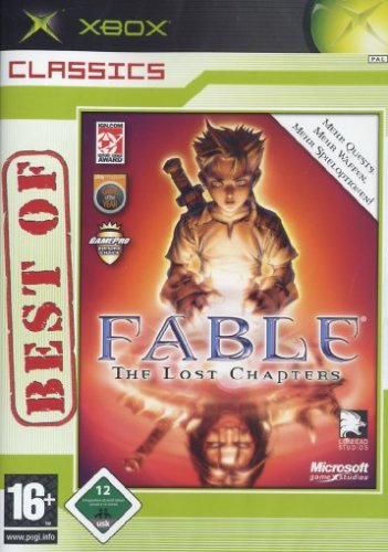 Fable - The Lost Chapters - Xbox Classics Xbox artwork