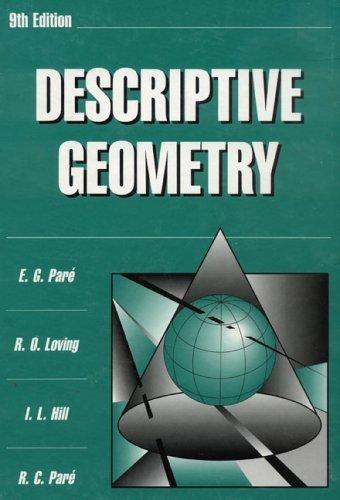 Descriptive Geometry  9th 1997 (Revised) edition cover