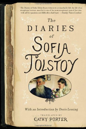 Diaries of Sofia Tolstoy  N/A 9780061997419 Front Cover