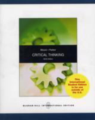 Critical Thinking  2008 edition cover