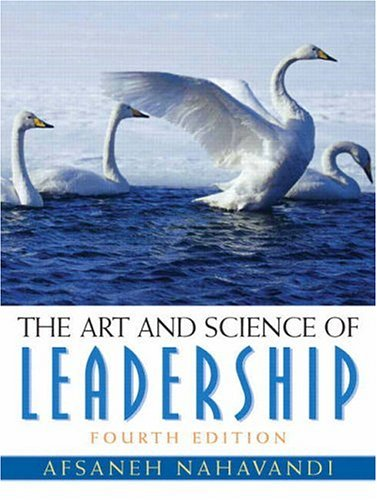 Art and Science of Leadership  4th 2006 (Revised) edition cover