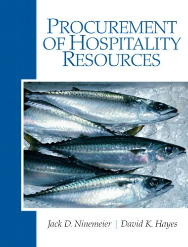 Procurement of Hospitality Resources   2010 edition cover
