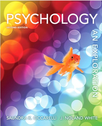 Psychology An Exploration 2nd 2013 (Revised) edition cover