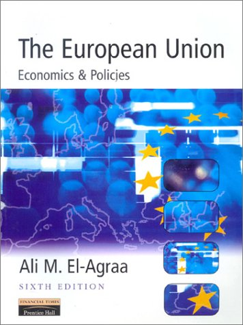 European Union Economics and Policies 6th 2001 9780273646419 Front Cover