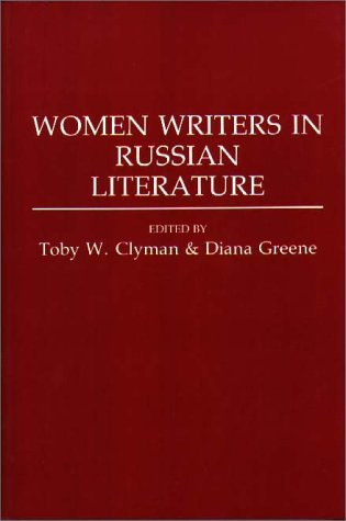 Women Writers in Russian Literature   1994 9780275949419 Front Cover