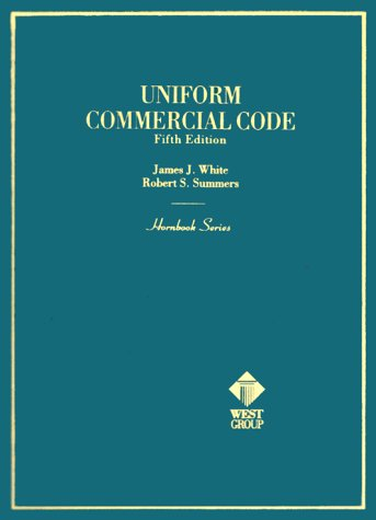 Uniform Commercial Code  5th 2000 (Revised) 9780314239419 Front Cover