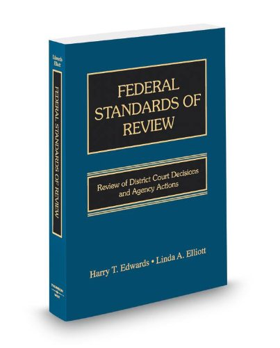 FEDERAL STANDARDS OF REVIEW    N/A edition cover