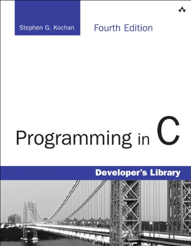Programming in C  4th 2015 9780321776419 Front Cover