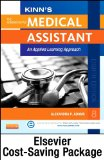 Kinn's the Administrative Medical Assistant - Text and Study Guide Package with ICD-10 Supplement An Applied Learning Approach 8th edition cover