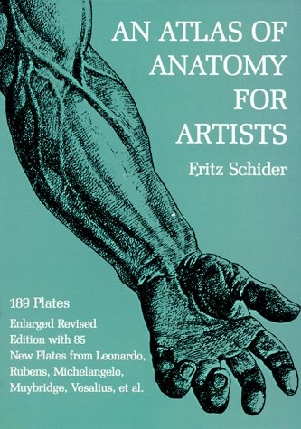 Atlas of Anatomy for Artists  3rd edition cover