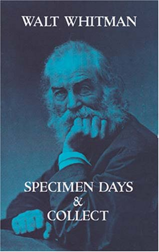 Specimen Days and Collect   1995 edition cover