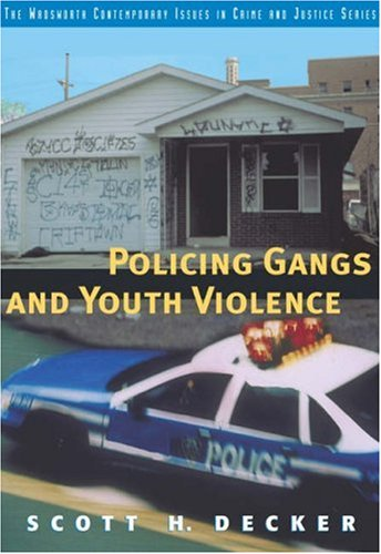 Policing Gangs and Youth Violence   2003 9780534598419 Front Cover