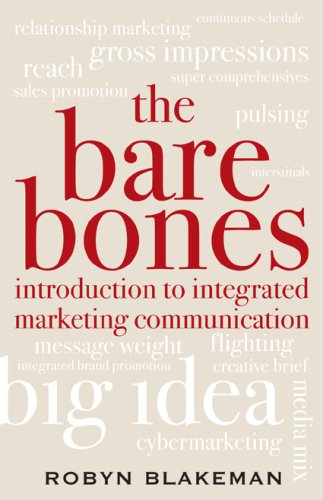 Bare Bones Introduction to Integrated Marketing Communication   2008 edition cover