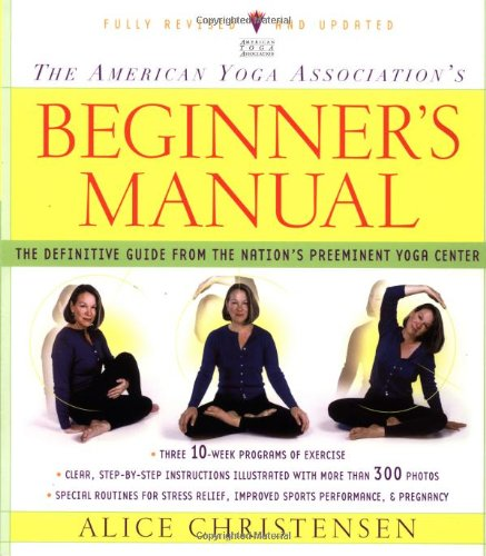 American Yoga Association's Beginner's Manual   2002 (Revised) edition cover