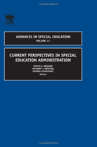 Current Perspectives in Special Education Administration   2006 9780762313419 Front Cover