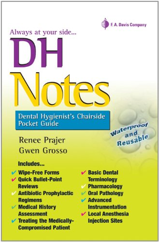 DH Notes Dental Hygienist's Chairside Pocket Guide N/A edition cover
