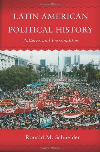 Latin American Political History Patterns and Personalities  2006 9780813343419 Front Cover