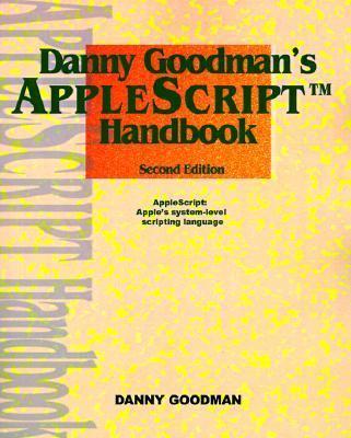 Apple Script Handbook  2nd (Reprint) 9780966551419 Front Cover