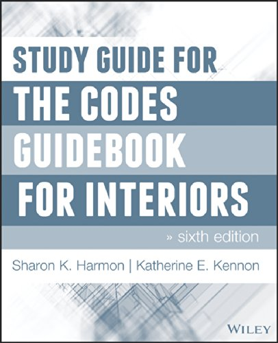 Study Guide for the Codes Guidebook for Interiors  6th 2014 9781118809419 Front Cover