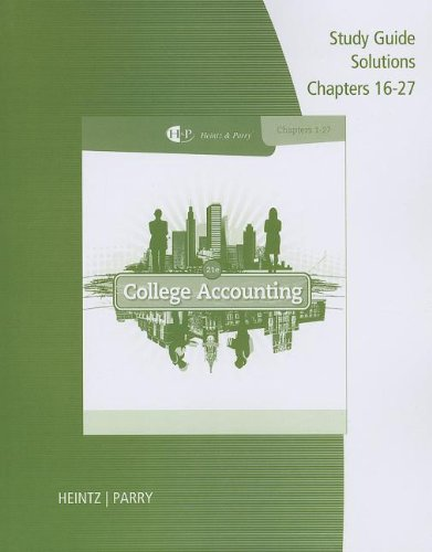 College Accounting  21st 2014 edition cover