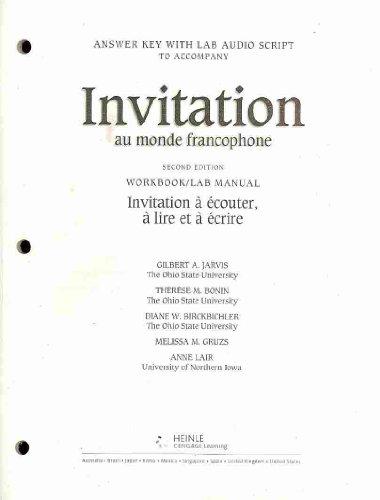 Invitation au Monde Francophone  2nd 2005 edition cover
