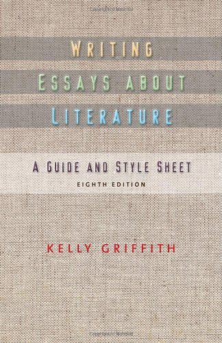 Writing Essays about Literature  8th 2011 edition cover
