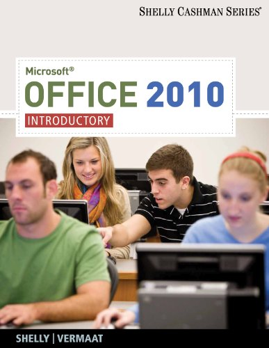 Microsoft� Office 2010 Introductory  2011 edition cover