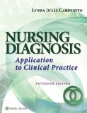 Nursing Diagnosis Application to Clinical Practice 15th 2017 (Revised) 9781496338419 Front Cover