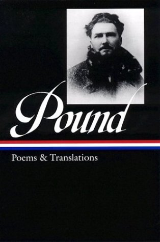 Ezra Pound Poems and Translations  2003 edition cover