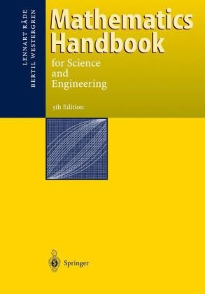 Mathematics Handbook for Science and Engineering  5th 2004 (Revised) edition cover