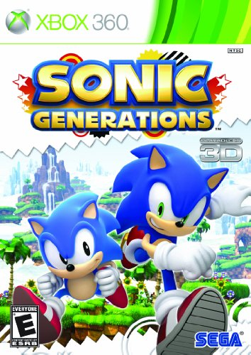Sonic Generations - Xbox 360 Xbox 360 artwork