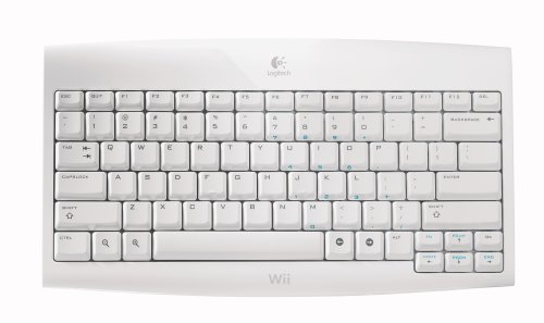 Wii - Cordless Keyboard 2,4 GHz USB Nintendo Wii artwork
