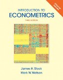 Introduction to Econometrics + New Myeconlab With Pearson Etext Access Card Package:   2014 edition cover