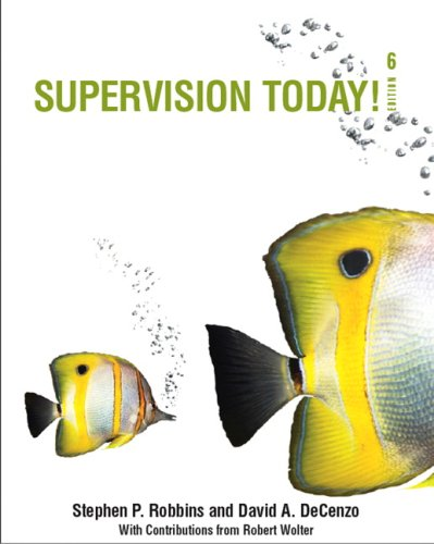 Supervision Today!  6th 2010 edition cover