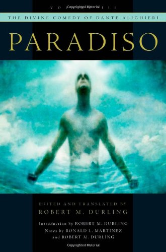 Divine Comedy of Dante Alighieri Paradiso  2010 edition cover