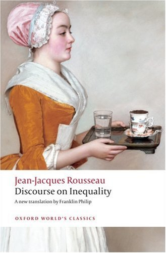 Discourse on the Origin of Inequality   2009 edition cover