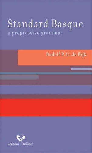 Standard Basque A Progressive Grammar  2007 9780262042420 Front Cover