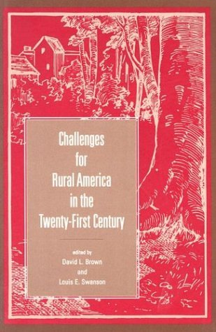 Challenges for Rural America in the Twenty-First Century   2003 edition cover