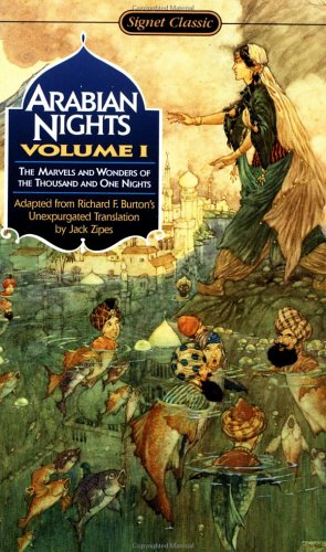 Arabian Nights The Marvels and Wonders of the Thousand and One Nights  1991 edition cover