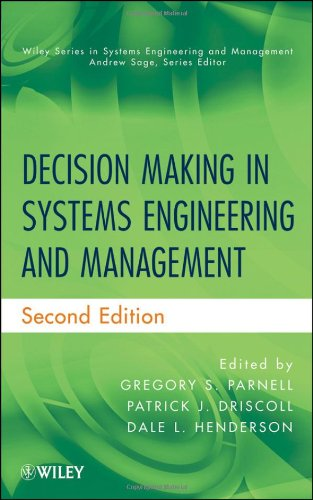 Decision Making in Systems Engineering and Management  2nd 2011 edition cover
