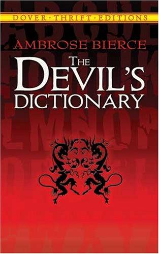 Devil's Dictionary   1993 (Reprint) edition cover