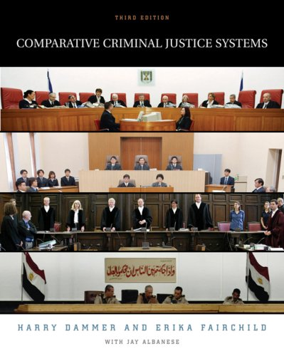 Comparative Criminal Justice Systems  3rd 2006 (Revised) 9780534615420 Front Cover