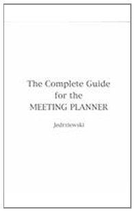 Complete Guide for the Meeting Planner   1991 9780538703420 Front Cover