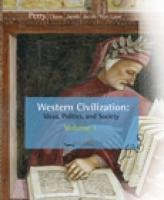 Western Civilization Ideas, Politics, and Society 1789 9th 2009 9780547147420 Front Cover