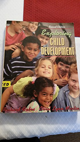 Fabes Exploring Child Development Second Edition 2nd 2003 9780618919420 Front Cover