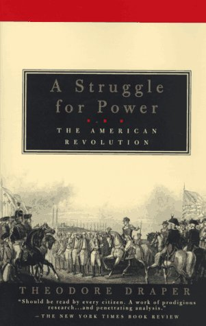 Struggle for Power The American Revolution N/A 9780679776420 Front Cover