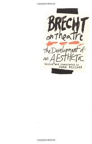 Brecht on Theatre The Development of an Aesthetic  1978 edition cover