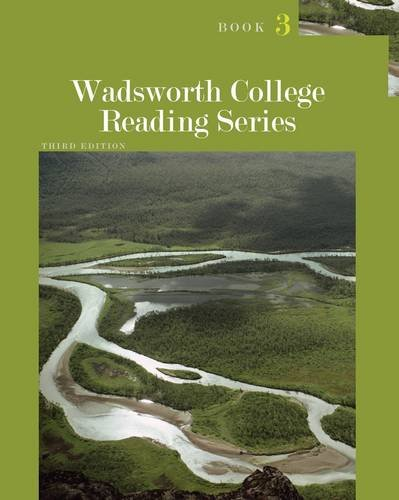 Wadsworth College Reading Series  3rd 2013 edition cover